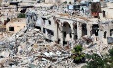 После авиаудара коалиции США под Алеппо погибли 56 мирных жителей