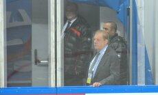 Lipmans apmierināts ar Latvijas hokeja izlases sniegumu PČ iesākumā