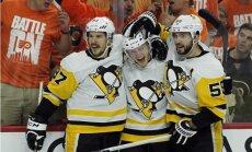 'Penguins' un 'Predators' ar iespaidīgām uzvarām sasniedz Stenlija kausa nākamo kārtu