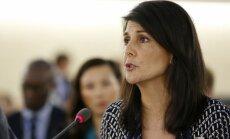 Tiesību pārkāpēji jāizslēdz no ANO Cilvēktiesību padomes, norāda ASV