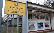 Ziemeļkoreja ieguvusi kodoliekārtas caur Berlīnes vēstniecību, ziņo BfV
