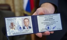 Opozīcijas līderis Navaļnijs reģistrēts Maskavas mēra vēlēšanām