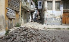 Turciju satricina 6,2 magnitūdu stipra zemestrīce