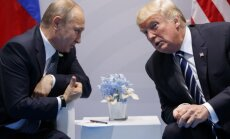 Kremlis: Vjetnamā iespējama Putina un Trampa tikšanās