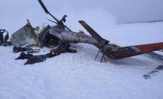 Helikoptera Mi-8 avārijā Sibīrijā 10 bojāgājušie