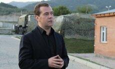 Tbilisi: Medvedevs nelikumīgi šķērsojis Gruzijas robežu