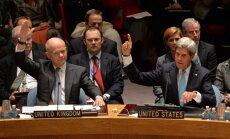 ANO Drošības padome pieņem rezolūciju par Sīrijas ķīmisko ieroču iznīcināšanu