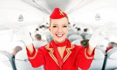 Amata noslēpumi - stjuarte: no izpletņiem un flirta ar pilotiem līdz kaprīziem un neadekvātiem pasažieriem