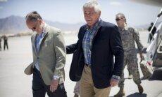 ASV aizsardzības ministrs ieradies iepriekš neizziņotā vizītē Afganistānā