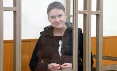 Savčenko tuvāko nedēļu laikā varētu atgriezties mājās, cer Porošenko
