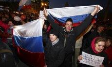 'Putina tūristi' no Krimas tagad destabilizē situāciju Ukrainas austrumos, secina virsnieks