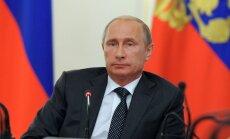 Putins: Krievija nepiedalīsies bruņošanās sacensībās, taču plāno radīt jaunus ieročus