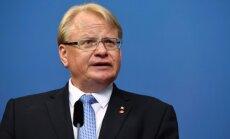 Baltijas reģiona valstīm ir jāsadarbojas, uzskata Zviedrijas aizsardzības ministrs