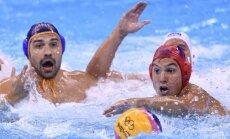 Riodežaneiro vasaras olimpisko spēļu vīriešu ūdenspolo turnīra ceturtdaļfinālu rezultāti (16.08.2016.)