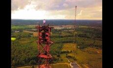Video: Kāpiens ekstrēmākajā Latvijas tornī – Kuldīgas 'Adatā'