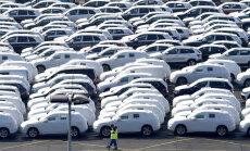 Jaunu auto tirdzniecība Vācijā septembrī sarukusi par 30,5%
