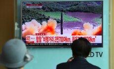Северная Корея снова запустила ракету в сторону Японии