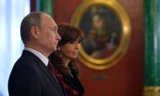 Krievija un Argentīna noslēdz vērienīgus līgumus naftas, atomenerģijas un transporta nozarēs