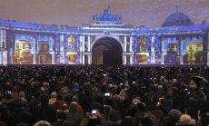 Video: Ermitāža ar grandiozu šovu atzīmē 250 gadu jubileju