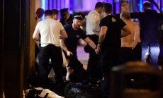 Londonas teroraktā 21 cietušā veselības stāvoklis ir kritisks
