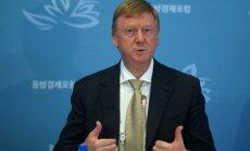 Anatolijs Čubaiss: sankcijas ir izaicinošas, taču biznesu strupceļā nedzen