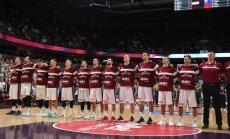 Latvijas izlases basketbolisti PK kvalifikācijas otrās kārtas spēlē viesos tiekas ar Spāniju