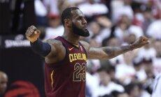 'Cavaliers' uzvar 'Raptors', pamatlaikā ne reizi nebūdami vadībā
