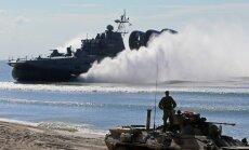 Krievijā sākas šogad lielākās militārās mācības, kurās piedalīsies 95 tūkstoši karavīru