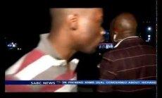 Video: Žurnālistu aplaupa TV tiešraides laikā