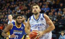 'Ventspils' basketbolisti līdzīgā Čempionu līgas spēlē piekāpjas 'Neptūnas' komandai