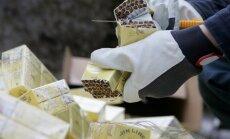 Pētījums: kontrabandas cigarešu apjoms sarūk līdz 30% no kopējā tirgus