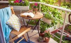 Terases un balkoni ar pasakainu skatu – iedvesma omulīgam iekārtojumam