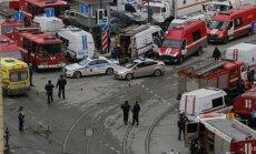 Nav ziņu par Sanktpēterburgas sprādzienā cietušiem Latvijas valspiederīgajiem