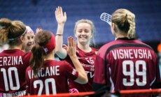 Latvijas florbolistes sasniedz pasaules čempionāta ceturtdaļfinālu