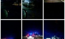 Autoavārijā pie Siguldas trīs cietušie
