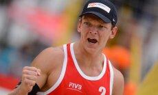 Latvijas 'bīčisti' garantē dalību 'Grand Slam' izslēgšanas turnīrā