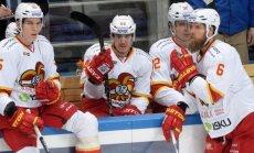 Kulda ar rezultatīvu piespēli palīdz 'Jokerit' izcīnīt uzvaru KHL spēlē