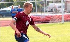 Latvijas futbola izlases aizsargs Freimanis karjeru turpinās Lietuvā