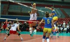 Latvijas sieviešu volejbola izlase Eiropas čempionāta kvalifikācijas turnīrā paliek bez uzvarām