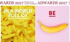 Tuvojas radošās izcilības festivāls 'Adwards2017'