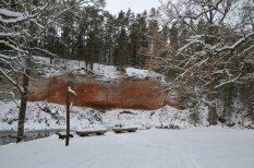 Aizraujoši distanču slēpošanas un nūjošanas maršruti mežā