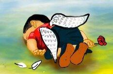 Художники со всего мира ответили на смерть 3-летнего беженца из Сирии