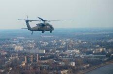 Эксклюзив: Как фотокор Delfi летал над Ригой на военных вертолетах UH-60 Black Hawk