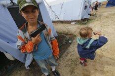 Samierināšanās ar dzīvi Ukrainas bēgļu nometnē