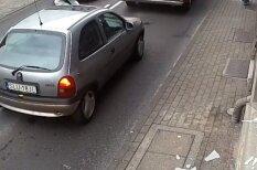 ВИДЕО: Мгновенная карма — вор хотел ограбить магазин, но был сбит машиной