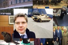 """Нил Ушаков сделал селфи с американским танком в Риге (+ смешные фото из его """"Твиттера"""")"""