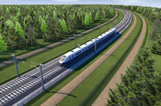 Визуализация: как будет выглядеть спорная железная дорога Rail Baltica за €4 млрд