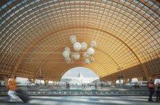 Ведь мы этого достойны? ?? фото с футуристичным дизайном нового вокзала и ж/д моста в Риге