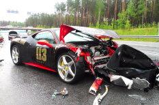 Богатые тоже бьются: шесть латвийских аварий с участием машин дороже 80 тысяч евро