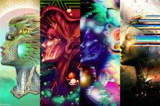 Художник принял 20 разных наркотиков и создал 20 иллюстраций с их эффектами